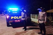 Ciptakan Situasi Kondusif, Kepolisian Wilayah Hukum Polres Enrekang Patroli Malam
