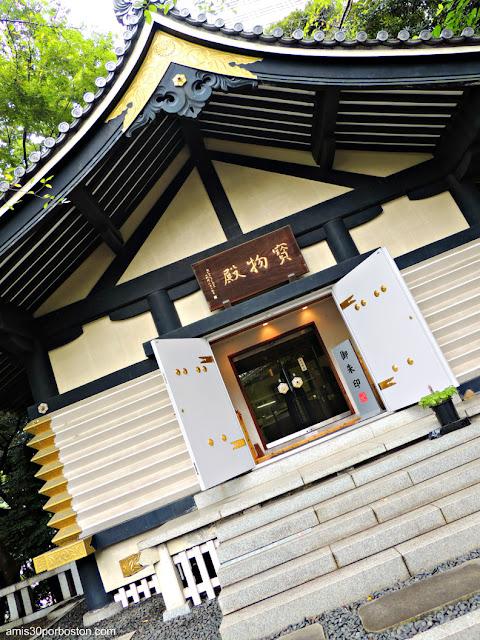Homotsuden en el Santuario Hie, Tokio