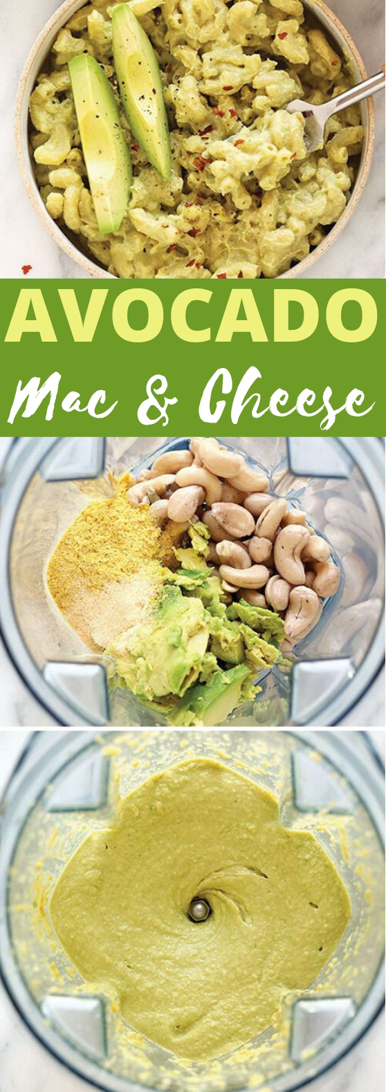VEGAN AVOCADO MAC AND CHEESE #vegan #dinner #pasta #glutenfree #healthy