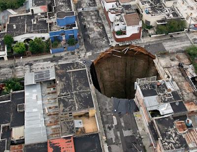 Sink hole of Guatemala