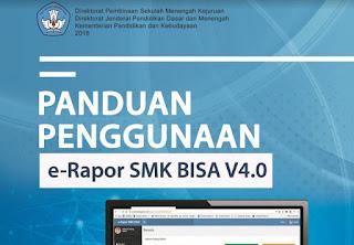 Download Panduan Penggunaan E-rapor SMK Versi V4.0 Tahun 2018