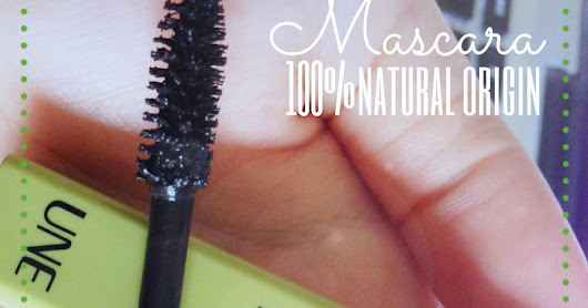 Mascara 100% Natural Origin