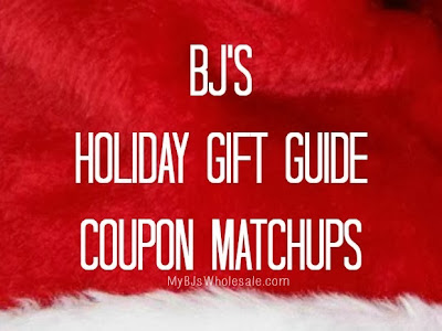 BJs Coupon Matchups for 2013 Holiday Gift Guide