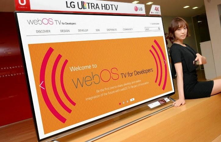 LG rilis webOS TV SDK buat pengembang HTML5