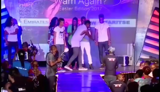 Big Brother Naija 2017 Winner, Efe Proposes Marriage To Marvis (Watch Video)