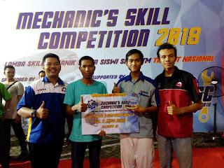MSC 2018, SMK Taruna Raih Juara Harapan 1