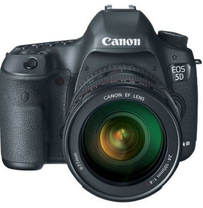 Canon EOS 5D Mark III, digital slr camera