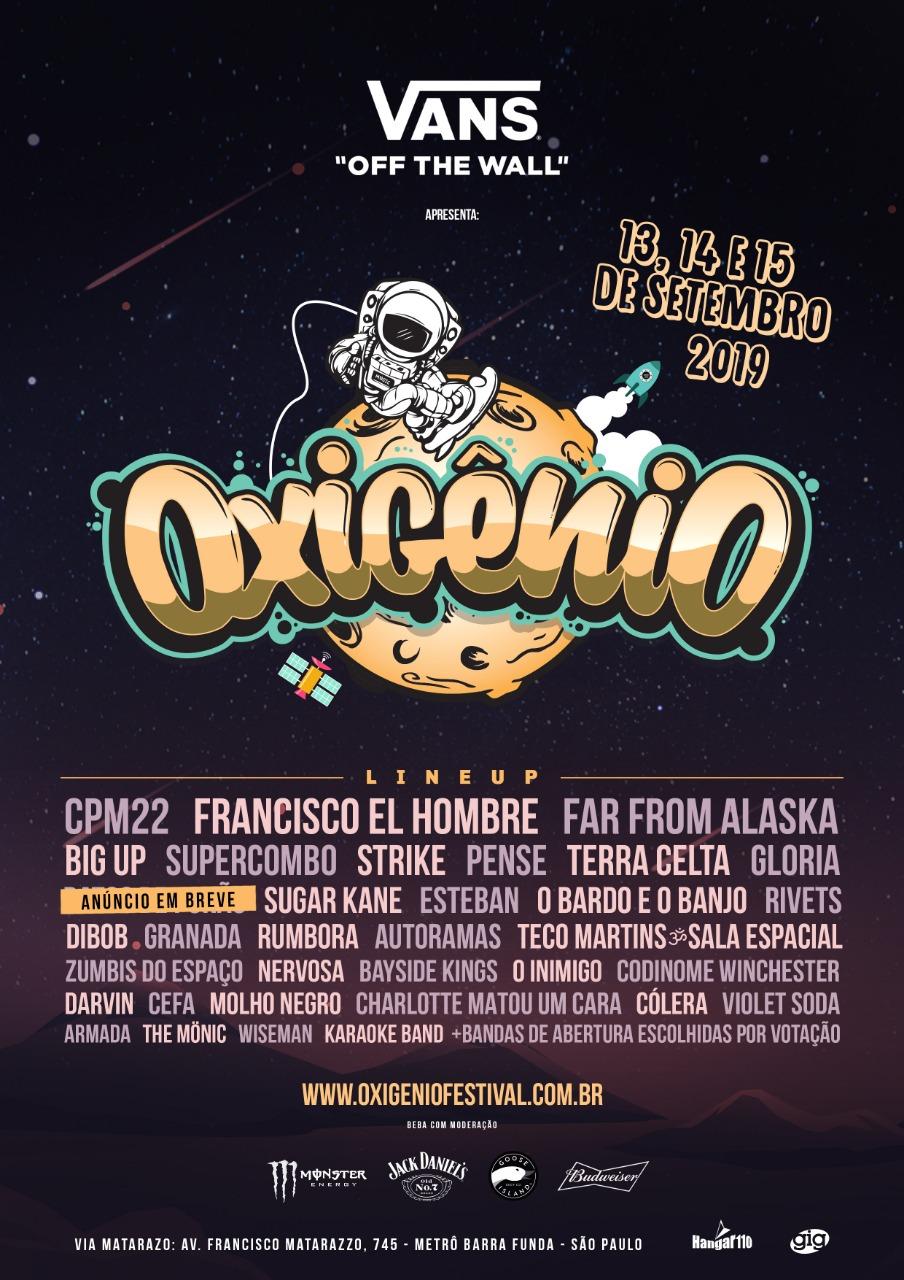 Resultado de imagem para oxigenio festival lineup