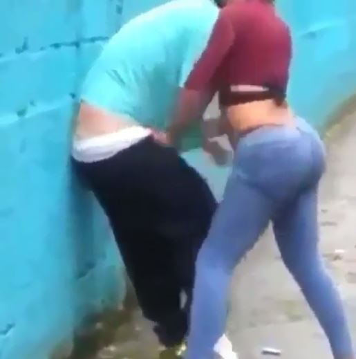Man Was Caught On Cam Fighting A Girl He Allegedly Attempted To Rape In Broad Daylight!