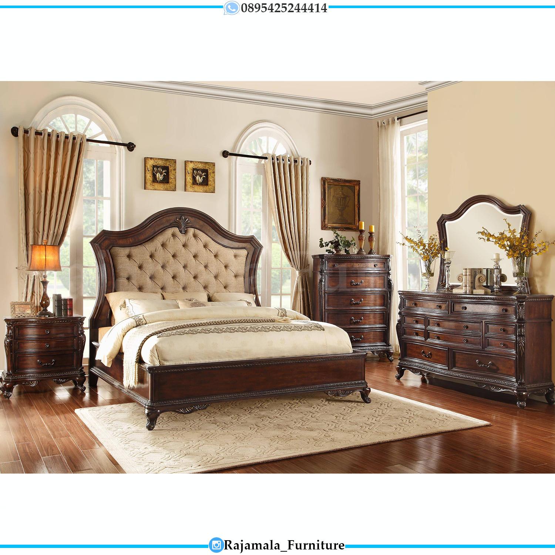 New Dipan Minimalis Jati Natural Set Tempat Tidur Terbaru RM-0080