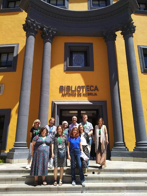 Visita de la XI Erasmus Staff Training Week a la Biblioteca A. de Nebrija