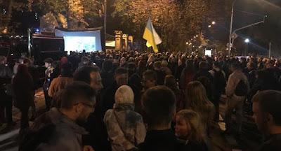 """Под Администрацией президента состоялась акция """"Молчание убивает"""""""