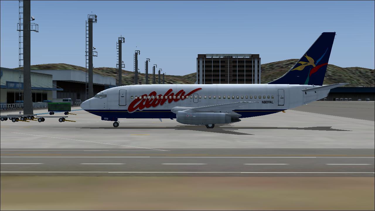 FS2004 - BOEING 737-200 AEROSIM - FS2004 ULTRAMEGA - FS9/FSX