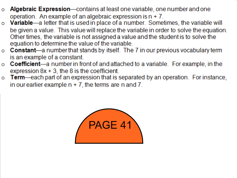 Mrs. White\'s 6th Grade Math Blog: LEARNING TO IDENTIFY TERMS ...