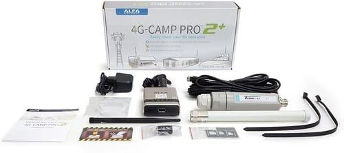 Alfa 4G Camp Pro 2+ Cellular 4G Data Booster Kit
