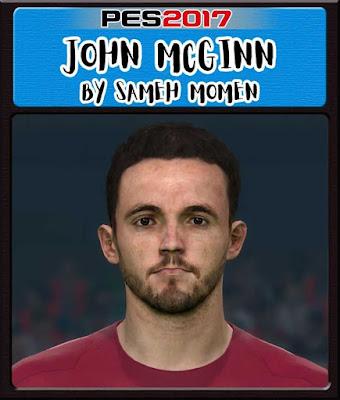 PES 2017 John McGinn Face by Sameh Momen