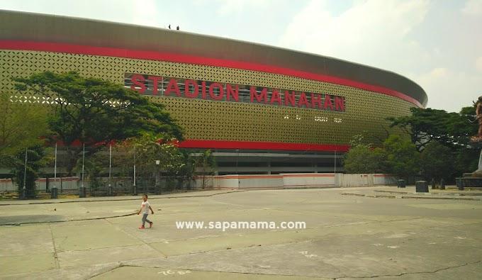 Taman AAJI Stadion Manahan Rusak?