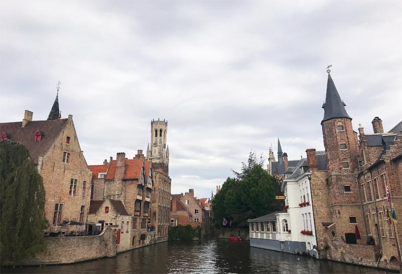 Bruges river view