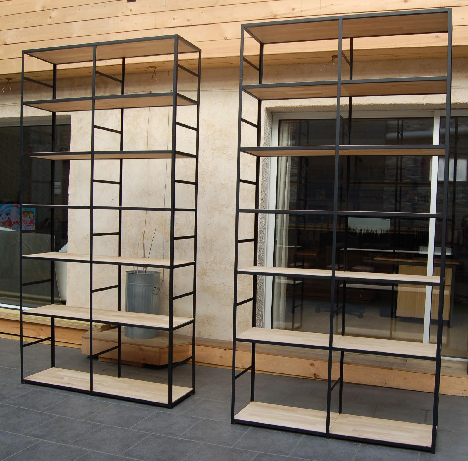 blog de la maison de l 39 imaginarium l 39 ambiance factory 100 sur mesure lot de 2 biblioth ques. Black Bedroom Furniture Sets. Home Design Ideas