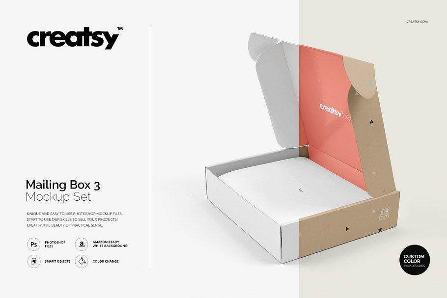 Download 170+ Best Mailing Box Mockup Templates | Free & Premium