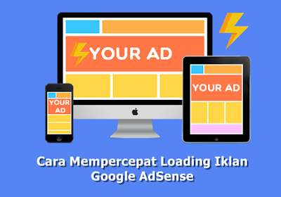 May display advertisements from Google AdSense is the most wanted yesteryear whatever blogger How to speed upwardly Loading the Google AdSense ads on blogs