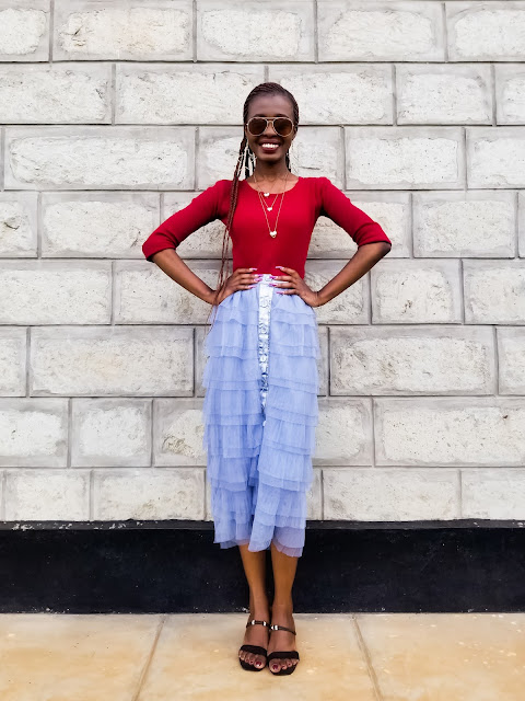How To Wear A Tulle Skirt And Look Classy