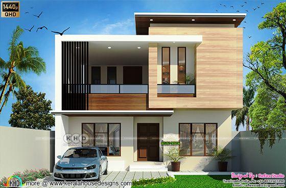 South Indian Modern Elevation Design