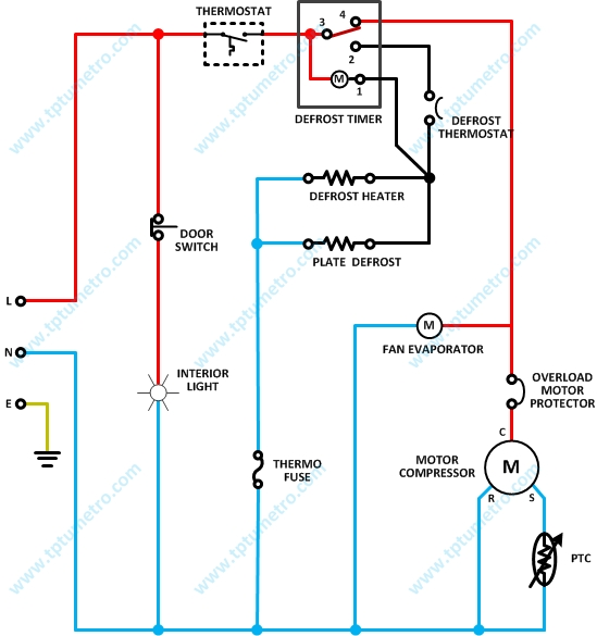 lg no frost refrigerator wiring diagram  diagram of 1993