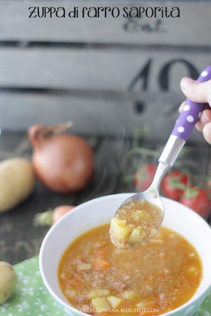 zuppa di farro saporita