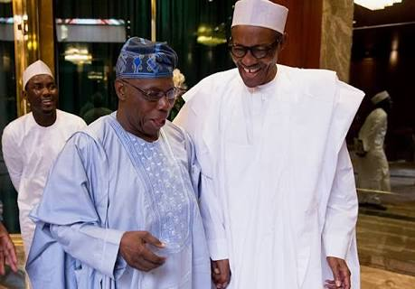 Obasanjo to Buhari: Fight Corruption Under Your Nose