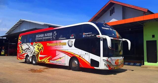 Bus Manggala Trans Cityliner