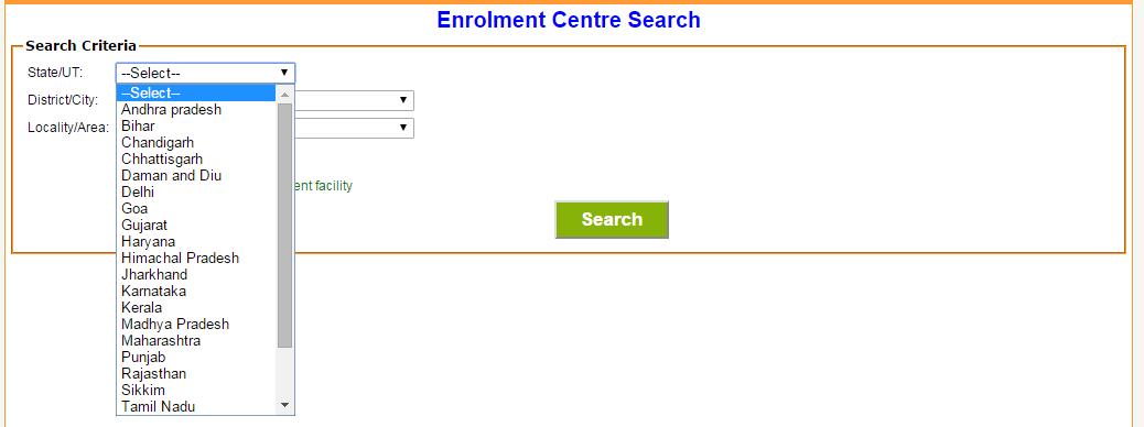 Csc aadhaar enrolment form pdf