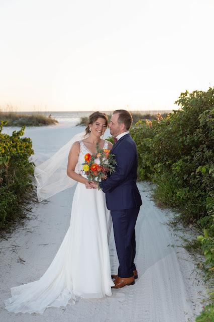 Newlyweds professional island photography.
