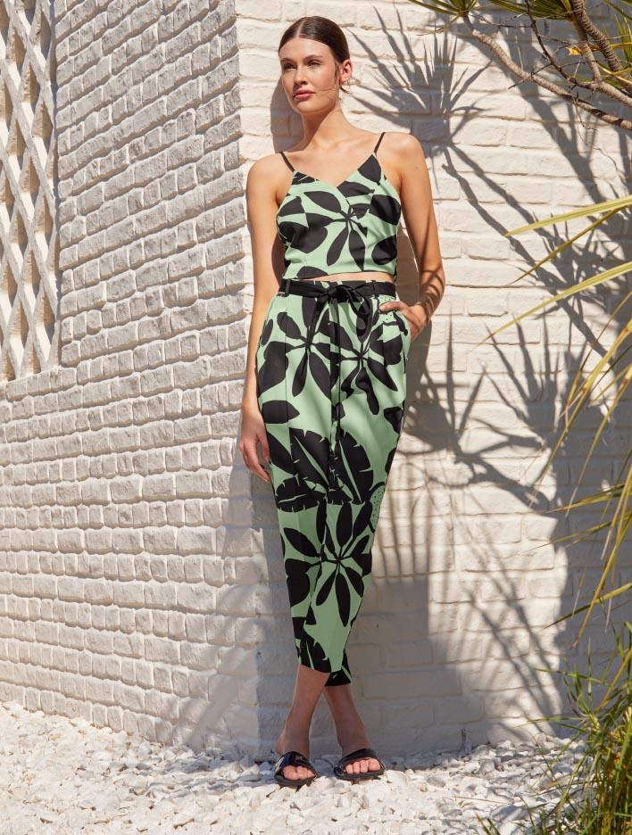 Pantalones de verano 2021 moda mujer ropa de moda 2021