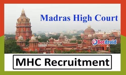 Madras High Court Recruitment 2021, Apply Online for MHC Job Vacancy
