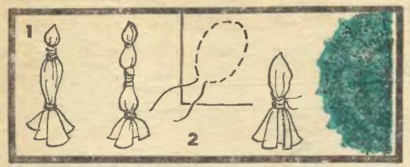 техника окраски ткани