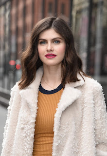 Alexandra Daddario At Aol Live In New York