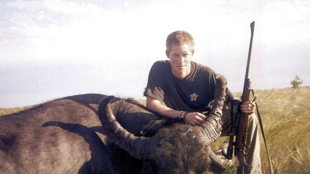 Prince Harry gives up hunting