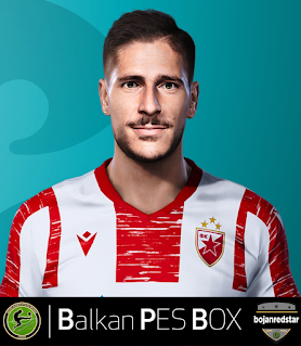 PES 2021 Faces Diego Falcinelli by Bojanredstar