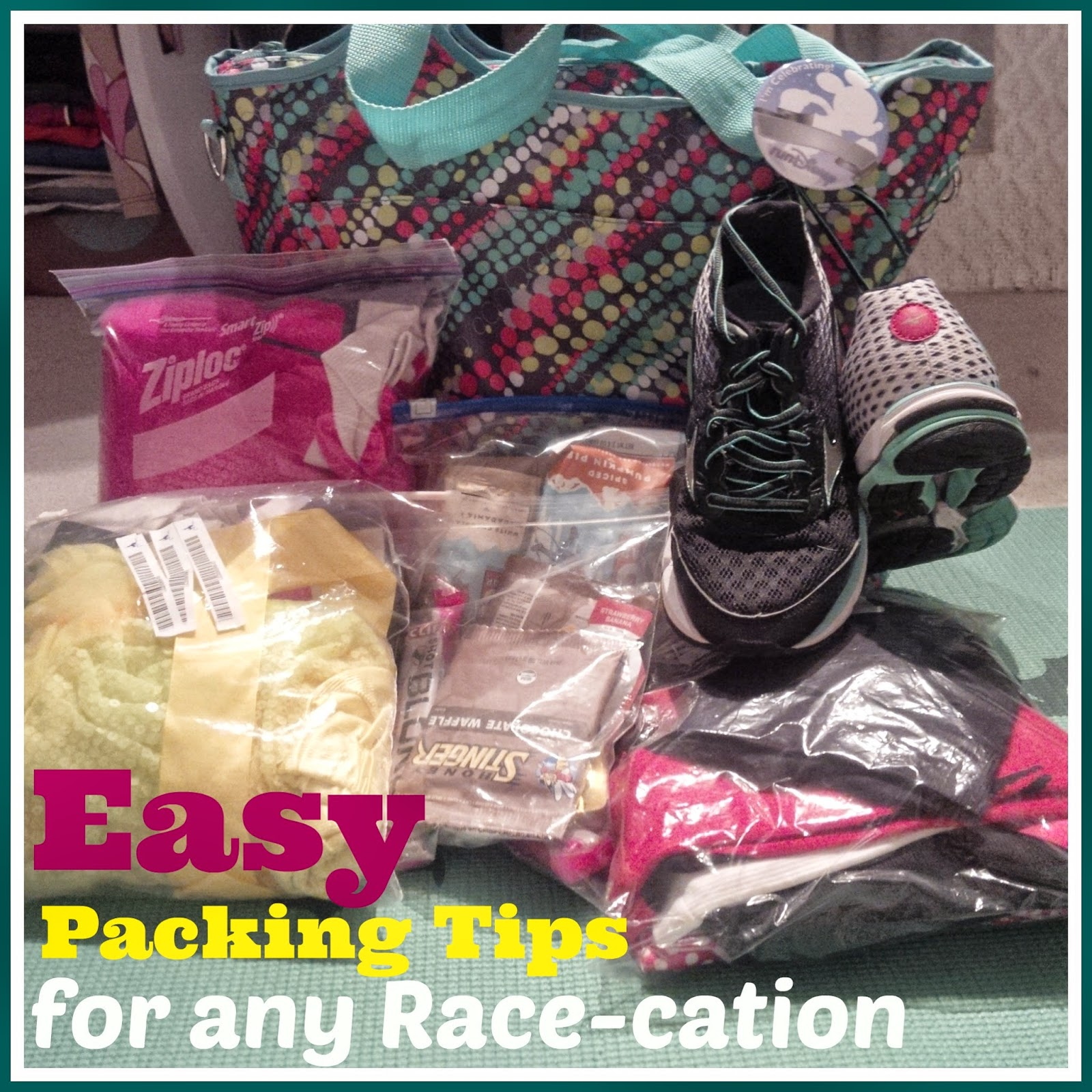 what to pack for a race