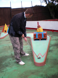 Mini Golf at the Vegas Amusement Arcade in Hunstanton