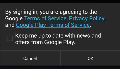 Đăng nhập cửa hàng Ch Play - Google Play Store trên Droid4X c