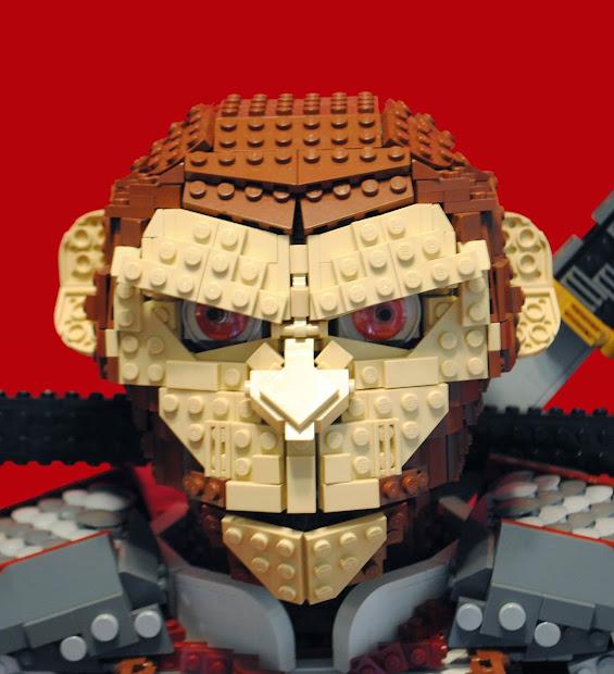 Lego Moc Monkey King