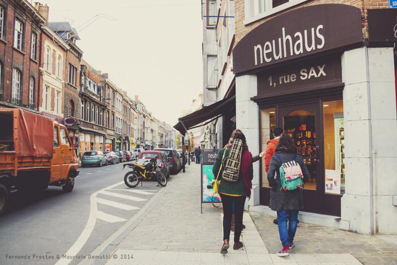 loja de chocolates Neuhaus