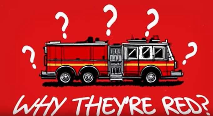 Why Fire trucks are Red in Colour- Every Day in Excited