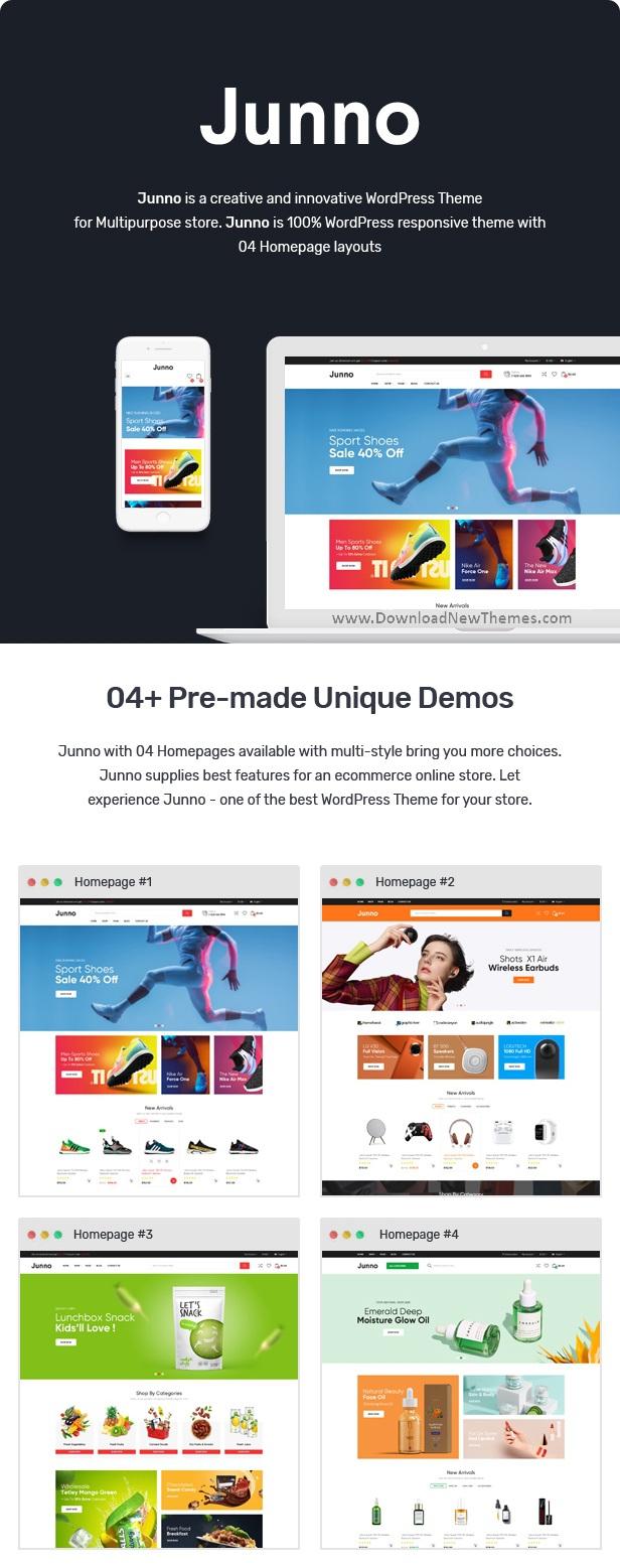 Multipurpose WooCommerce WordPress Theme