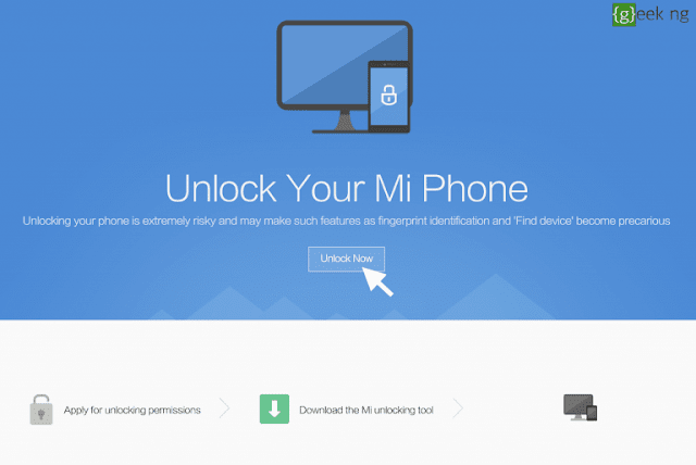 How To Unlock Your Xiaomi Device Boot Loader.