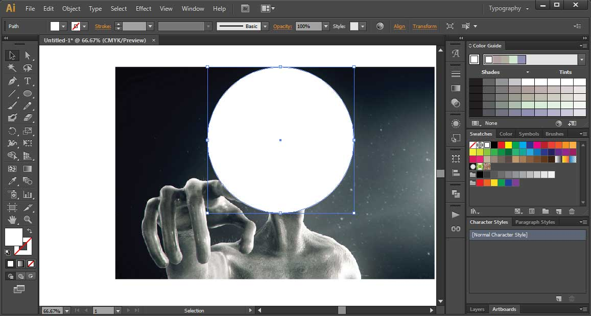 Cara Powerclip Seperti Corel Draw Di Illustrator Mas Vian