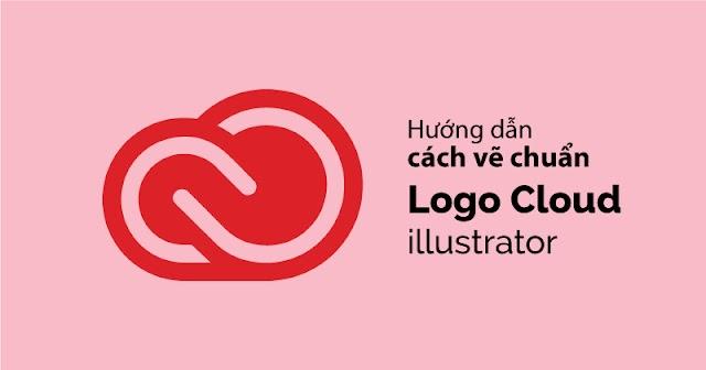 Hướng dẫn vẽ logo cloud bằng illustrator