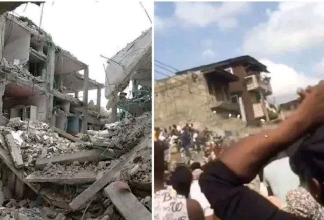 Woman loses 5 children in Lagos school building collapse